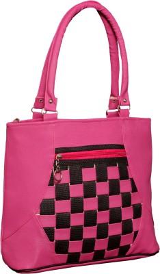 Cg Shoulder Bag(Pink, 11 inch)