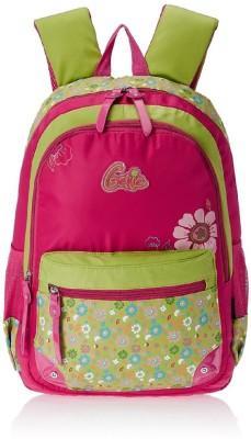 Genius Pink and Green 13 Inch School Bag
