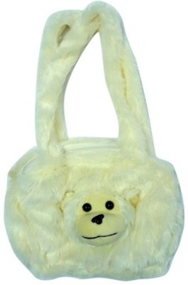 Hello Toys Plush Bags Shoulder Bag(White, 3 L)
