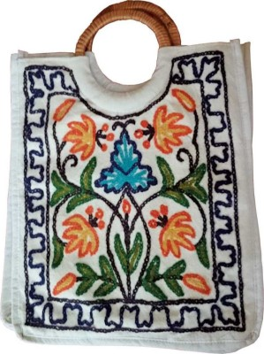 The Koshur Kul Embroidery Floral Multipurpose Bag