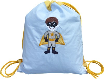 Little Pipal Superhero Toddler Drawstring Backpack