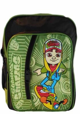 Digital Bazar Green Subway Surfer School Bag Winner kids Backpack Waterproof School Bag