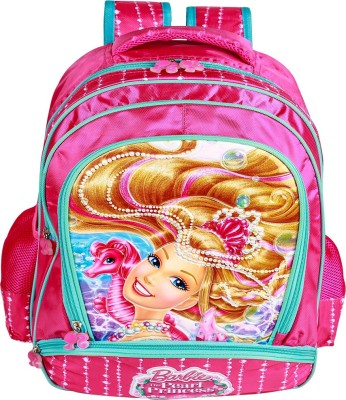 Mattel Barbie Mermaid Princess School Bag