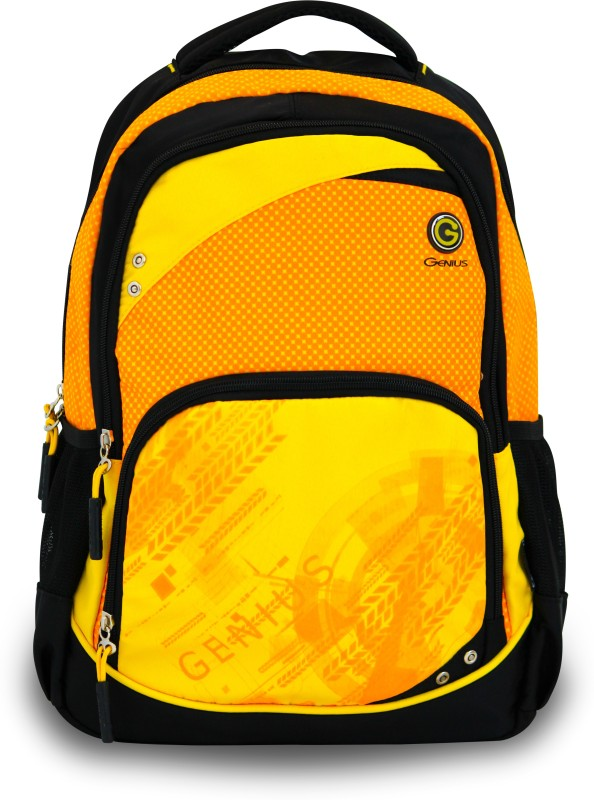 Genius Genius Backpack 1517 Waterproof Backpack(Orange, 17 inch)