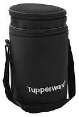 Tupperware Waterproof Lunch Bag(Black, 1 L)