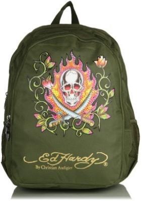Ed Hardy Waterproof School Bag