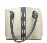 Maayas Shoulder Bag (Beige, Grey)