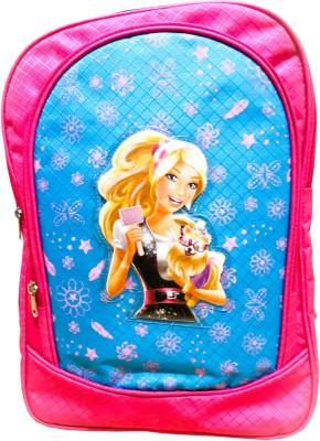 Cherry Creation School Bag(Pink, Blue, 4 L)