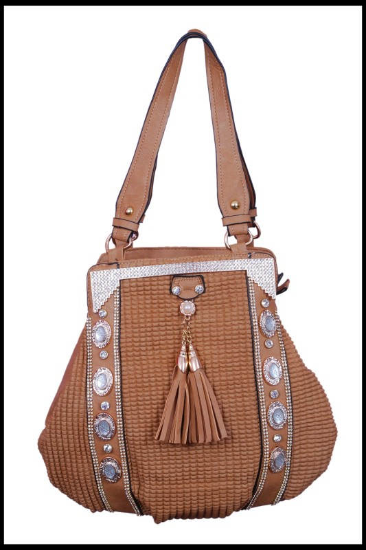 NEXON Potli Bag School Bag(Beige, 1 inch)