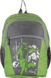 Maxion Backpack (Green, Grey, 16 inch)