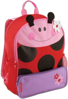 Stephen Joseph Sidekicks Ladybug Waterproof Backpack