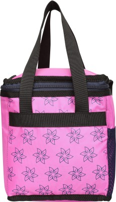 Pinnakle Lunch Bag Lunch Bag(Pink, 7 L)