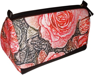 MISONA WORLD ROSE DIGITAL PRINTED POUCH Waterproof Multipurpose Bag