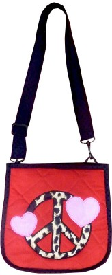 Little Pipal Peace Sling Bag