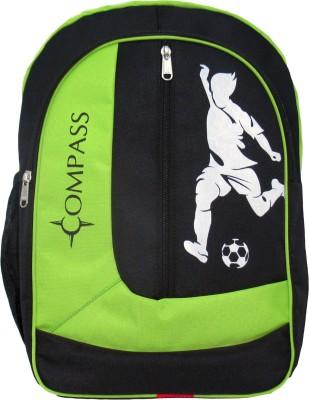 Compass Spacious Heavy Zipper Waterproof School Bag