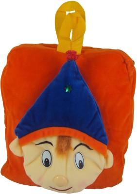 Sisamor Kids Joker School Bag(Orange, Blue, 12 inch)