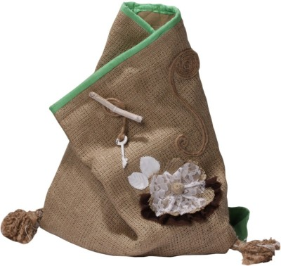 Gentle Sunshine Burlap-Love Backpack