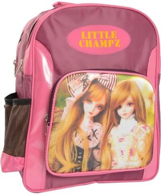 Compass Purple cool style Kids (14.5 inch) Waterproof School Bag