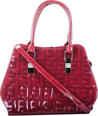 Hoppingstreet Shoulder Bag(Maroon, 8 inch)