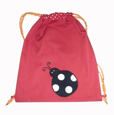 Little Pipal Ladybug Junior Drawstring Backpack