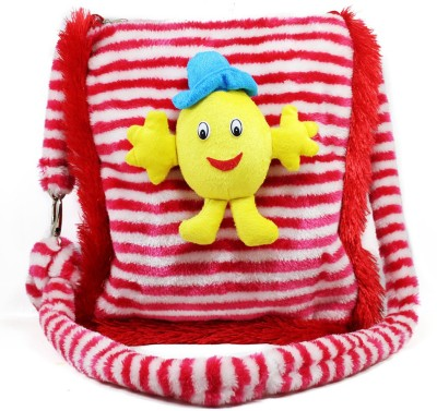 Tickles Cute Smiley Sling School Bags School Bag