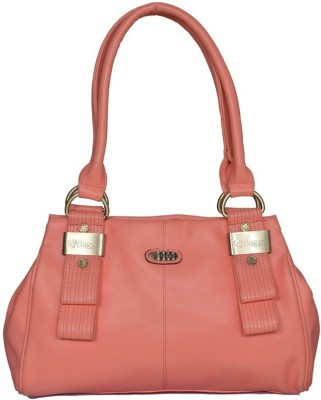 Baggo Shoulder Bag(Pink, 12 inch)