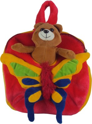 Sisamor Kids Butterfly with Red Base School Bag
