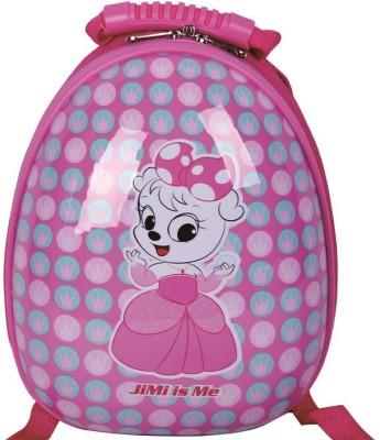 T-Bags Cute Cat Pink Hard Shell Waterproof School Bag
