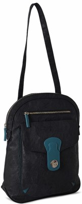 Baggit Montana Parina Multipurpose Bag(Black, 10 L)