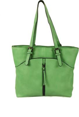 India Unltd Green Shoulder Bag School Bag