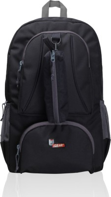 F Gear Armour Waterproof School Bag(Black, Grey, 29 L)