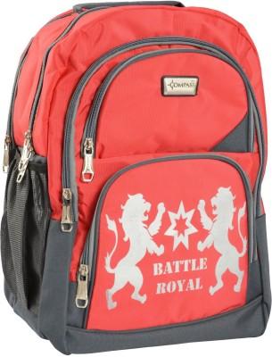 Compass Premium Fabric Multi-Pocketed (18 inch) Waterproof School Bag