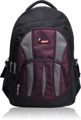 F Gear Adios 31 L Standard Backpack(Black & Wine)