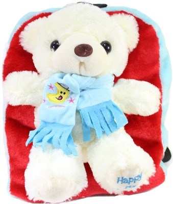 Tickles By Inmark Adorable muffler Teddy Bag School Bag