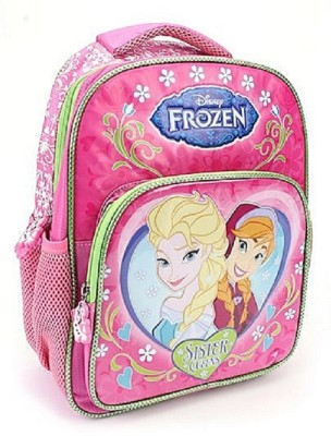 Disney Frozen Sister Love Pink 16 Inch School Bag