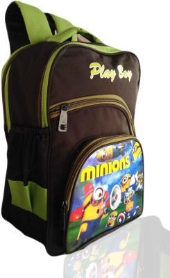 Digital Bazar Green Humpty Kids Backpack Dumpty WOW Waterproof School Bag