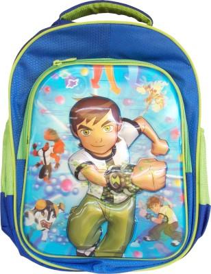 Majesty Ben 10 Waterproof School Bag