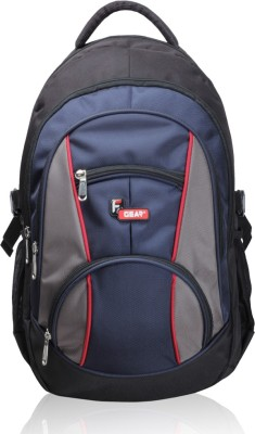 F Gear Midus 29 L Standard Backpack(Black, Navy Blue)