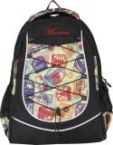 Maxion Backpack (Black, Purple, 16 inch)