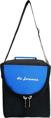 de jeunez Lunch Bags Waterproof Lunch Bag(Black, Blue, 8 inch)