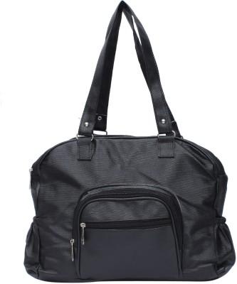 D Price Spring Summer Waterproof School Bag(Black, 13 inch)