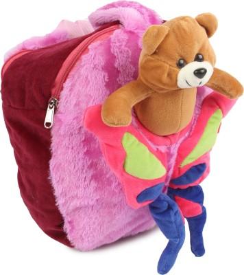 Instabuyz detachable Butterfly School Bag