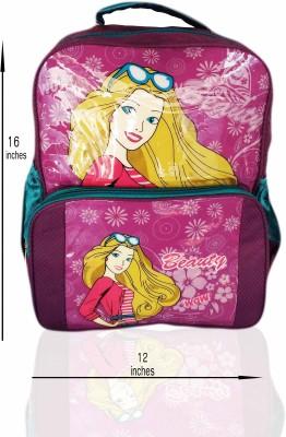 Digital Bazar Pink Barbie Humpty Dumpty Kids Valley Backpack Waterproof School Bag