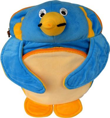 Funtastik Blue Penguin Design Kids Bag School Bag