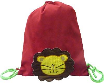 Little Pipal Lion Junior Drawstring Backpack