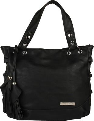 Lino Perros Shoulder Bag(Black, 4 inch)