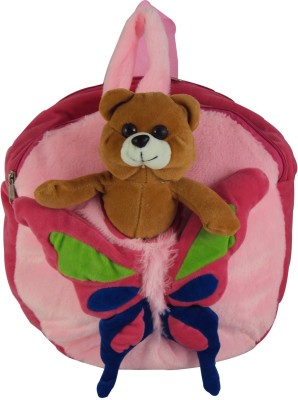 Sisamor Kids Butterfly with Pink Base School Bag