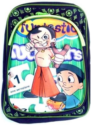 Avani Industries Printed Shoulder Waterproof School Bag