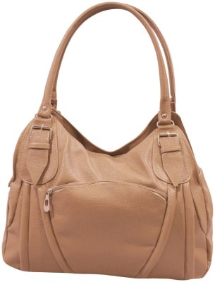 Imagine Products Waterproof Shoulder Bag(Beige, 7 inch)