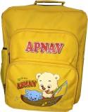 Apnav Waterproof Backpack (Yellow, 14 in...